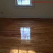 Floor refinishing after 2