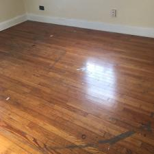 Floor refinishing before 2