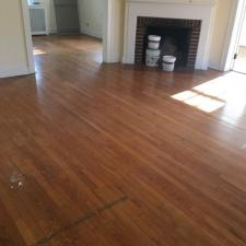 Floor refinishing before 6